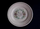 Teller ca. 1820 - 1840
