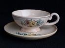 Tasse mit Tellerchen ca. 1940 - 1960