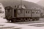 Dampftriebwagen in Balsthal