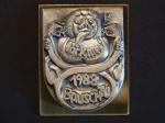 Plakette 1988 Gold