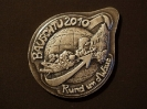 Plakette 2010 Silber