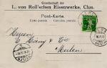 Clus b/Balshal (16.6.1910)