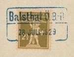 Balsthal Ö.B.-B. (28.7.1929)