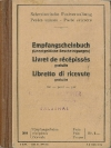 Empfangscheinbuch 1952