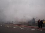 Brand Sägerei Rütti - Rauch
