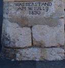 Hochwassermarkierung 1830