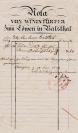 Löwen - Rechnung von 1849