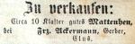 Ackermann Franz - Gerber - Klus