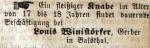 Winistörfer Louis - Gerber - Balsthal