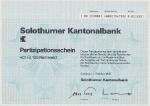Solothurner Kantonalbank Solothurn