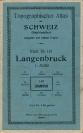 Langenbruck - Landkarte 1917