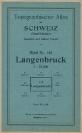 Langenbruck - Landkarte 1940