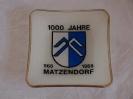 1'000 Jahre Matzendorf  968 - 1968