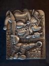 Plakette 2008 Silber