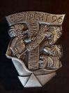 Plakette 1996 Silber