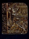 Plakette 1985 Gold