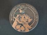 Plakette 1973 Bronce