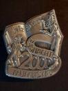 Plakette 2000 Silber