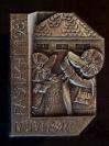 Plakette 1981 Silber