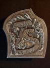 Plakette 2004 Silber