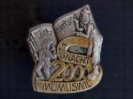 Plakette 2000 Gold