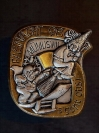 Plakette 1998 Gold