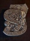 Plakette 1997 Silber