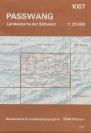 Landkarte - Passwang 1982