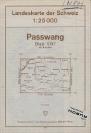 Landkarte - Passwang 1970