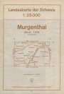 Landkarte - Murgenthal 1957